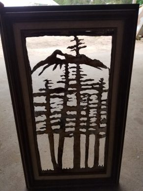 #53 pines and mountains $49