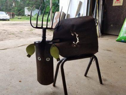 #6 cow $59