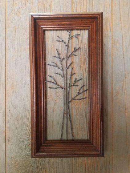 #49 framed tree $45