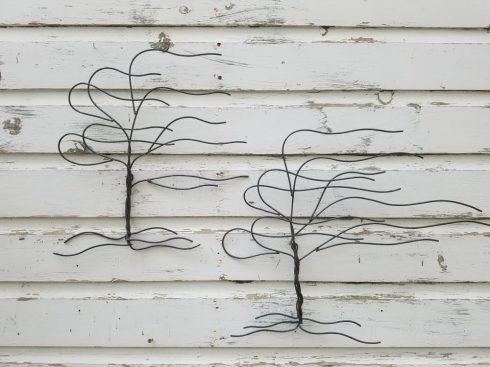 small whispy trees