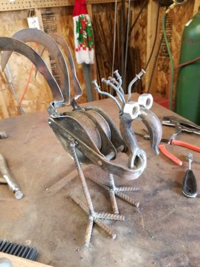 #19 pulley bird $59
