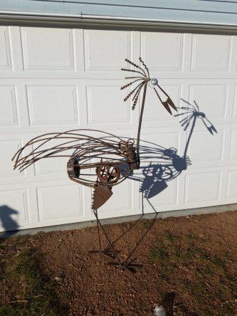 #32 Lg 6' crane $265