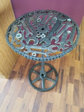 #66 tall wrench table $295