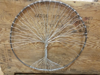 #103 wire tree of life $29